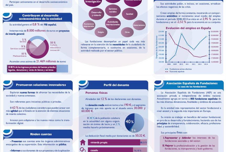 Sector fundacional español en cifras Asociación Española Fundaciones (AEF) - Fundación FSA)